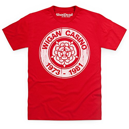 Birthplace Of Northern Soul T-Shirt, Herren Rot