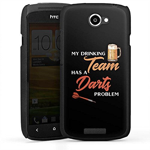 DeinDesign HTC One S Hülle Case Handyhülle Darts Dart Sport