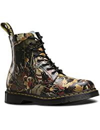 Dr.Martens Womens Pascal D'Antonio 8 Eyelet Leather Boots