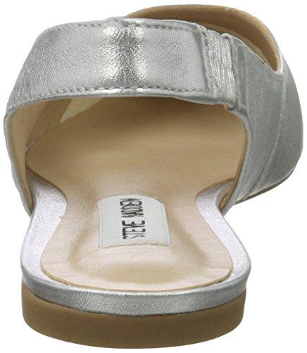 Steve Madden Damen Villa Sandal Offene Silber (Silver)