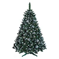 DWA CHRISTMAS TREE New Boxed Traditional Forest Green TREE (Snow-covered, 180 cm)