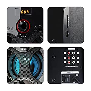 Zebronics BT4440RUCF 4.1 Channel Multimedia Speakers Best Online Shopping Store