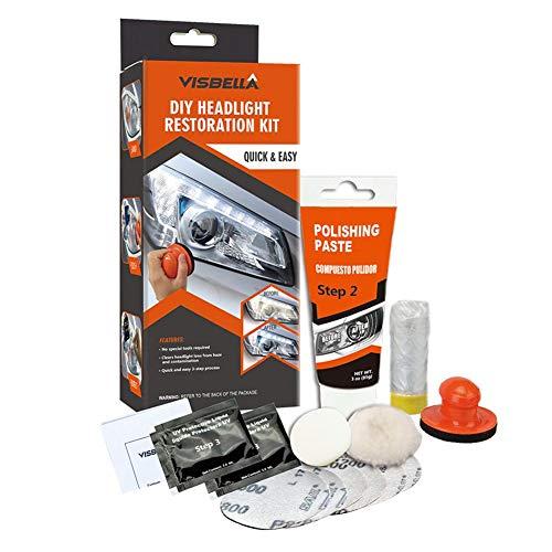 Scheinwerfer Polieren Reparaturflüssigkeit Set Auto Scheinwerfer Refurbished
