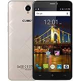 Cubot Max 4G Smartphone, Android 6.0, 6.0'' IPS HD Display, MT6753, Octa-Core, 1,3 GHz, Dual SIM Dual Standby, 3GB RAM + 32GB ROM, Fotocamera Posteriore 13.0MP, 4100mAh Batteria, ATA Hotknot Wifi Bluetooth - Oro