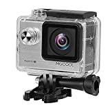 Action Camera 4k MGCOOL Sport Wifi Camera 20MP Fotocamera Digitale 1080p@60fps Waterproof Action cam 30M 170 Degree et 2 inch LCD Videocamera Action Cam 8 in 1 accessoires -argento