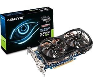 GIGABYTE GeForce GTX 660 OC - 2 Go GDDR5 - PCI-Express 3,0 (GV-N660OC-2GD) + GARANTIE 3 ANS