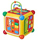 #10: Goappugo Multifunctional Learning Play Center With Piano, Phone, Music Toys