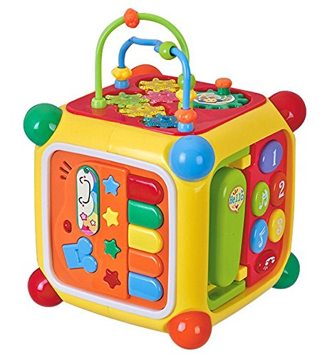 Goappugo Multifunctional Learning Play Center With Piano, Phone, Music Toys