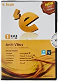 eScan Anti-Virus - 1 User, 1 Year (CD)