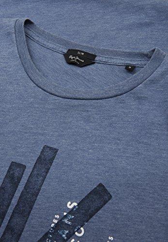Pepe Jeans London Herren T-Shirt Flag dark anyl