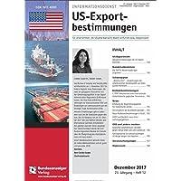 US-Exportbestimmungen [Jahresabo]