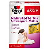 Doppelherz Nährstoffe für Schwangere + Mütter – Bei Kinderwunsch, in der Schwangerschaft oder Stillzeit – 1 x 30 Kapseln