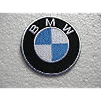 BMW Motorsports Car Logo Patches Gold Embroidered Patch SIZE : 3 INCHES