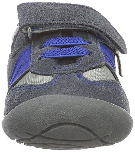 Rose & Chocolat Ss 014, Chaussures Marche Bébé Garçon Gris (suede Grey Trainers)
