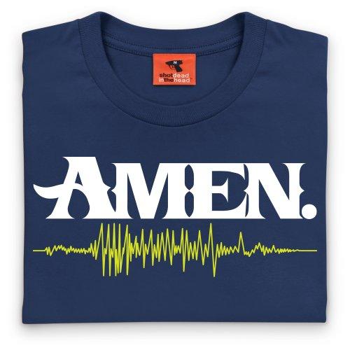 Amen T-Shirt, Herren Dunkelblau