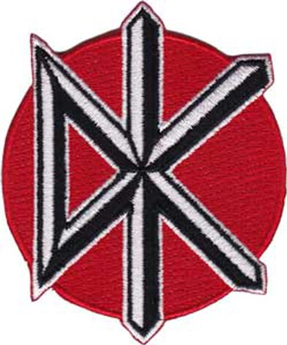 DEAD KENNEDYS Icon, Officially Licensed Original Artwork, Premium Quality Iron-On / Sew-On, 2.5
