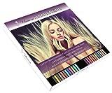 UNICORN® TM Haarkreide Set 24 Haarkreide Farben aus Haar kreide
