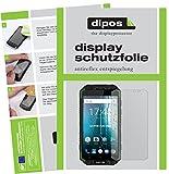 dipos I 6X Schutzfolie matt passend für Oukitel K10000 Max Folie Bildschirmschutzfolie
