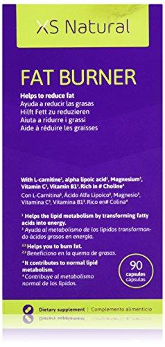 XS Natural Cápsulas Quemagrasas Que Ayudan a Perder Peso - 50 gr