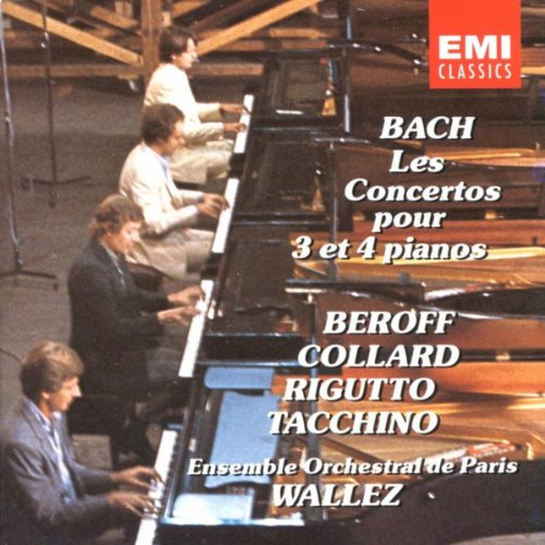 Concerto In A Minor For 4 Keyboards, BWV1065: I. Allegro