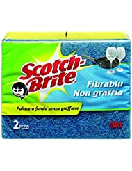 Scotch-Brite Fribrablu Spugna Antigraffio, 2 Pezzi