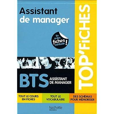 Top Fiches BTS Assistant de manager