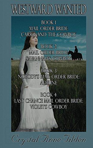 Westward Wanted: Books 1-4 (English Edition) (Tilden Crystal)