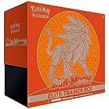 Pokémon TCG : Elite Trainer Box Sun & Moon Solgaleo ou Lunala (Modèle Aléatoire) - Version Anglaise - Sólo uno