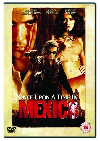 Once Upon a Time in Mexico [DVD] [2011] by Antonio Banderas|Salma Hayek|Johnny Depp