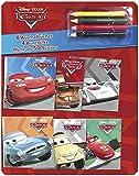 Disney Cars Mini-Malbücher: Mit 4 Buntstiften und mehr als 50 Stickern