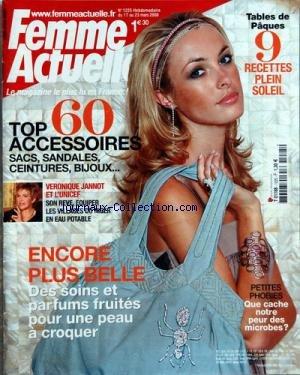 FEMME ACTUELLE [No 1225] du 17/03/2008 - TOP 60 AC...