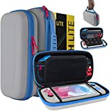 The Orzly Carry Case for the Nintendo Switch Lite (2019) is designed to be compact, lightweight, and portable - a perfect protective companion for the on the move Switch Lite console