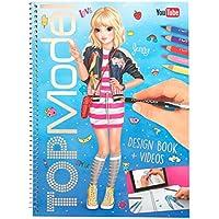 TOPModel Design Book + Videos Malbuch