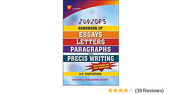 Buy Juniors Handbook Of Essays Letters Paragraphs And Precis  Buy Juniors Handbook Of Essays Letters Paragraphs And Precis Writing  Book Online At Low Prices In India  Juniors Handbook Of Essays Letters   Essay On Religion And Science also Tutoring Help  What Is A Thesis Statement In An Essay