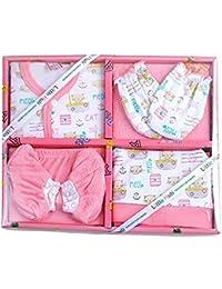 Little Hub New Born 6 pcs Unisex Baby Gift Set