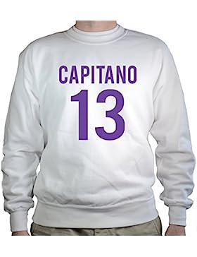 Settantallora - Felpa Girocollo GJ2614 Capitano #13 Viola
