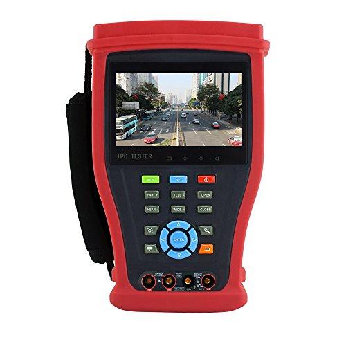 TSN H.265/H.2644K IP Kamera Tester 4MP AHD CVI 5MP TVI CCTV Kamera Tester CVBS Analog 1080P HD SDI/ex-sdi Kamera Monitor mit Digital Multimeter, HDMI Eingang/Ausgang, PoE Leistung, Rapid ONVI, UTP-Kabel-Tester, RJ45Kabel TDR Testen, integriertes WiFi, Erstellen WiFi Hotspot