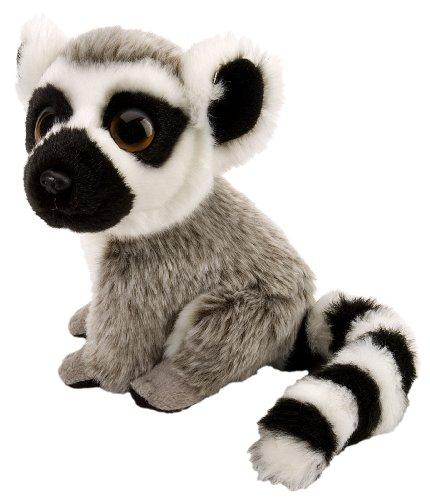 (Wild Republic 10469 - Watchers - Plüsch Lemur, 18 cm)