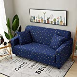 Best Slipcovers - 1E-way Stretch Sofa Covers 2 Seater Star Print Review