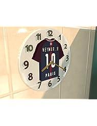 NEYMAR JR 10 - PSG HORLOGE MURALE - EDITION LIMITEE LES LEGENDES DU FOOTBALL