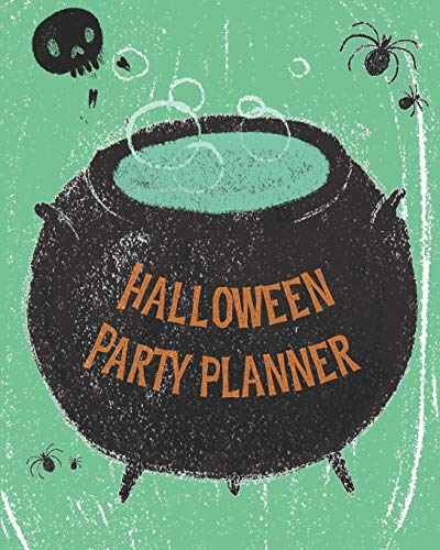 ner: Themed Event Planner + October Daily Planner Green Cauldron ()