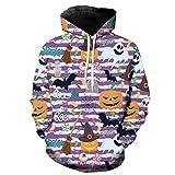 Männer-Winter-Warmer Hip Hop Loser 3D-Druck Männerkleidung Pullover Halloween Hoodie Street PP XL