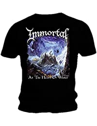 Immortal Official T Shirt Black Death Metal Heart Of Winter All Sizes