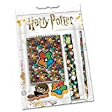 Karactermania Harry Potter Accio - Set de Material Escolar, 23.2 x 16.5 x 0.7 cm