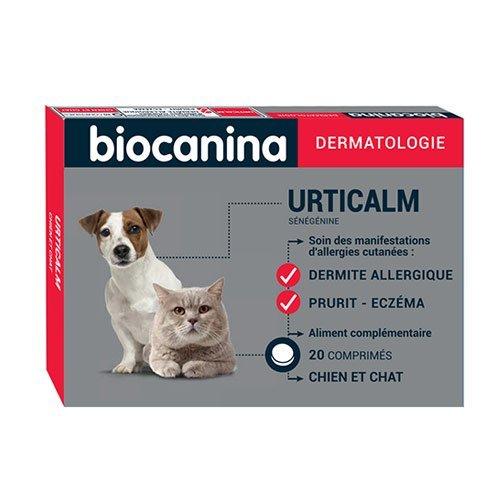 Biocanina Urticalm chien et chat 20cp