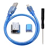 Kreema 3D Drucker TMC2208 V1.0 Mute Stepper Treiber + Tester Modul Board Stackable Headers Kit USB...