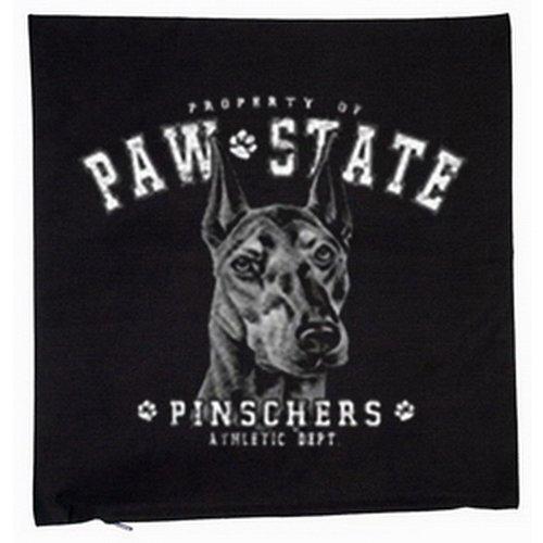 Doberman Pinscher Dog Cushion Cover 40 x 40 CM Black