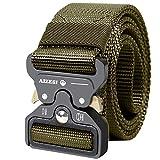 AIZESI Tactical Gürtel Military Nylon Gürtel Belt mit Schnellverschluss,Herren Gürtel verstellbar Automatische Schnalle Gürtel Waistband Gurtband Sportswear