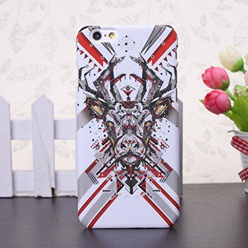 iPhone 5S Fall, Fashion Tier-Muster Design mit Kunstlicht Kunststoff HardCase Schutzhülle FÜR iPhone 5s (1), 8, IPhone 6S Plus 10