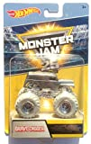 Hot Wheels Monster Jam - DWP00 Grave Digger - edición plateada '25...